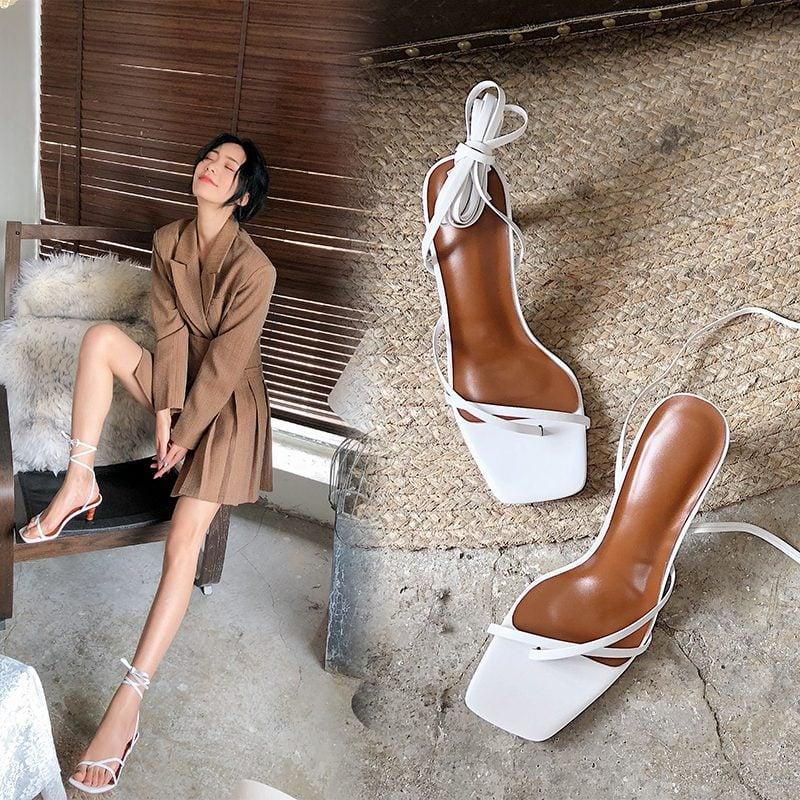 Chiko Marlayna Open Toe Stiletto Sandals