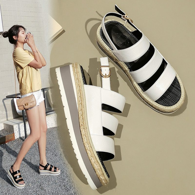 Chiko Mary Ann Open Toe Wedge Sandals