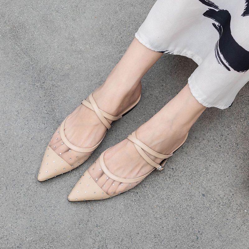 Chiko Stasia Pointed Toe Block Heels Pumps