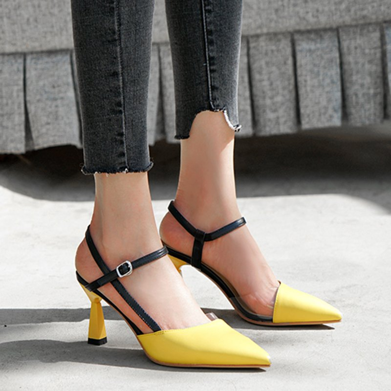 STORMI POINTED TOE KITTEN HEELS PUMPS