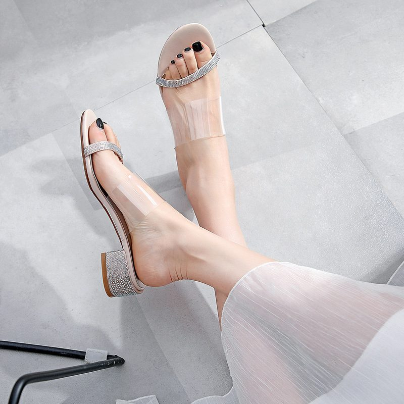 Chiko Stacia Open Toe Block Heels Sandals