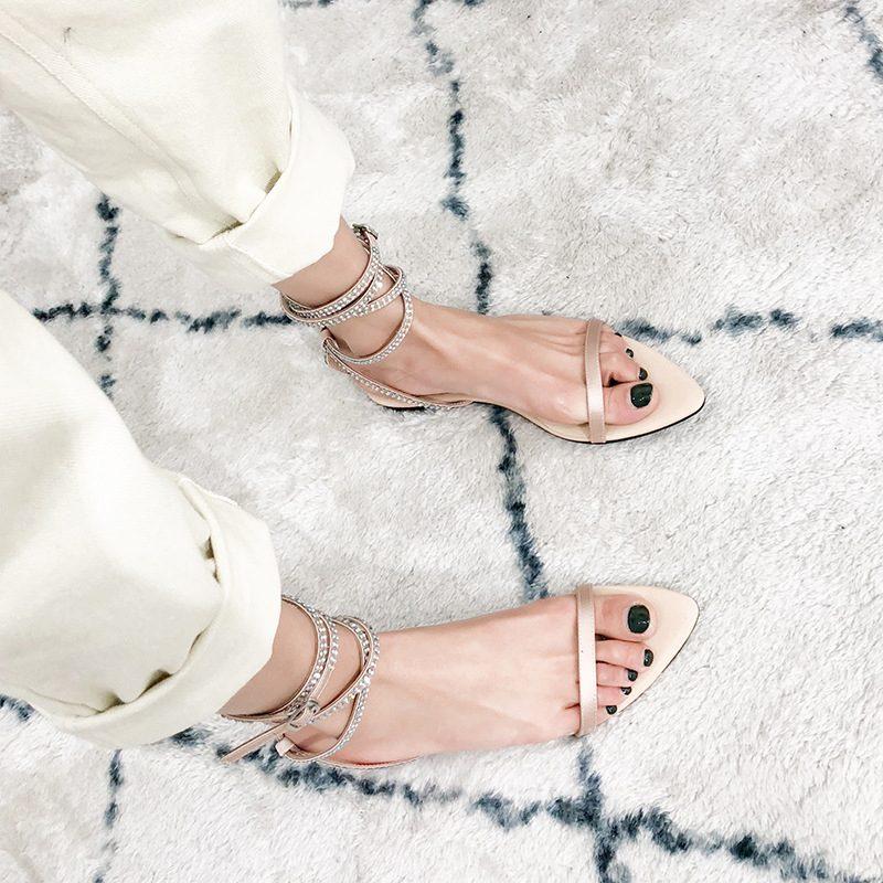 Chiko Starley Open Toe Block Heels Sandals