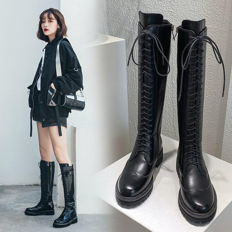 Chiko Yetta Round Toe Block Heels Boots