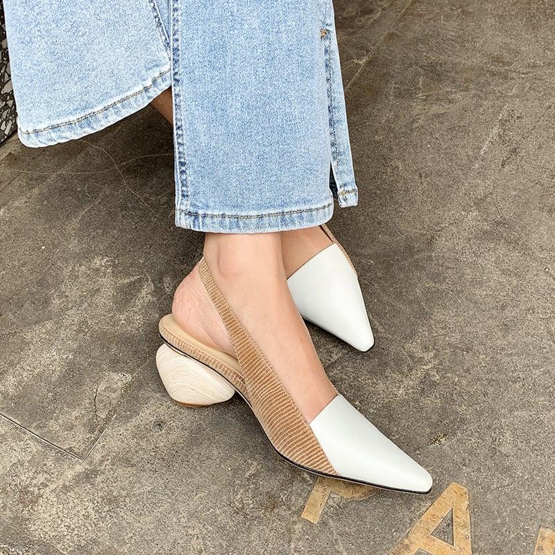 Chiko Celina Square Toe Block Heels Pumps