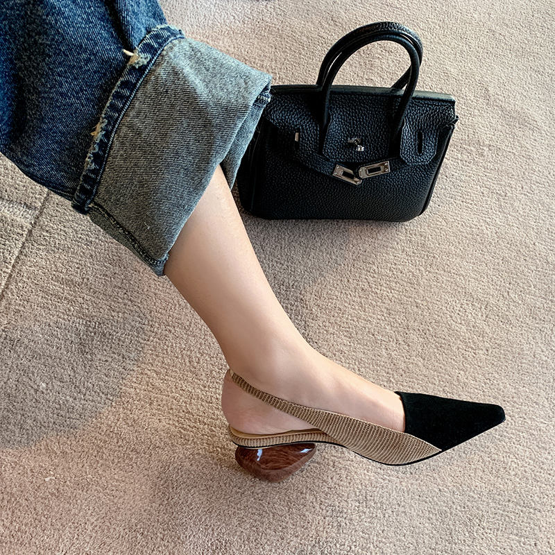 Chiko Celina Square Toe Block Heels Pumps