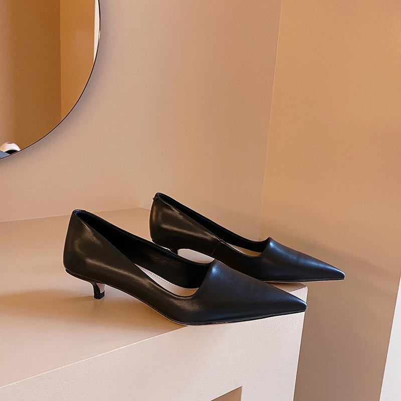 Chiko Charice Pointed Toe Kitten Heels Pumps
