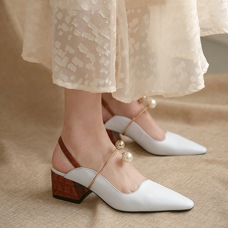 Chiko Caliope Square Toe Block Heels Pumps