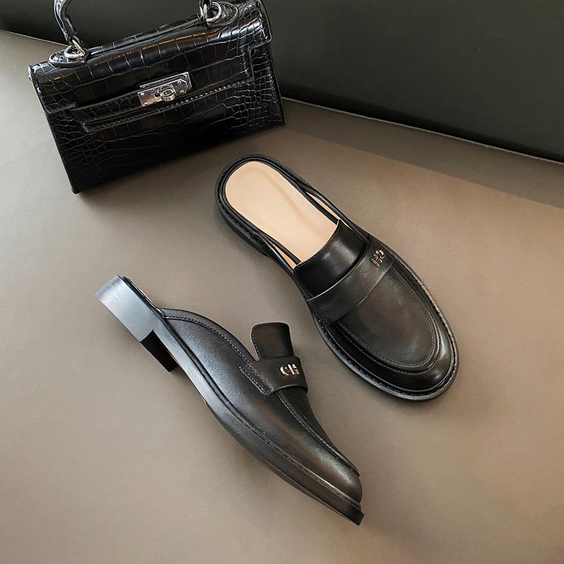 Chiko Iola Round Toe Block Heels Clogs/Mules