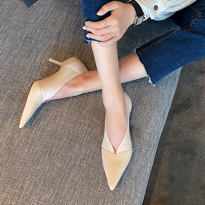 Chiko Nerissa Pointed Toe Kitten Heels Pumps