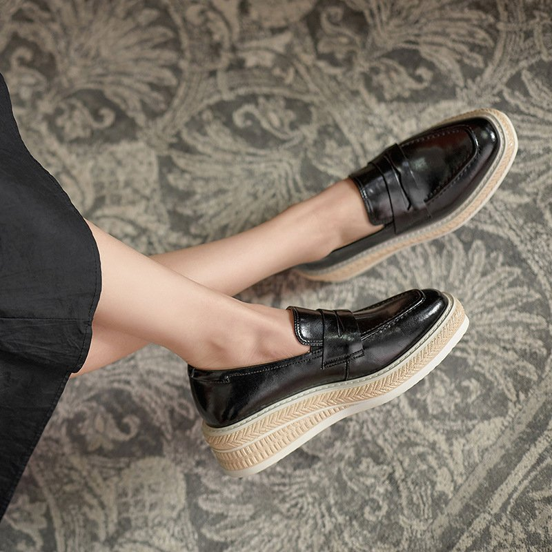 Chiko Sameh Square Toe wedge Loafer