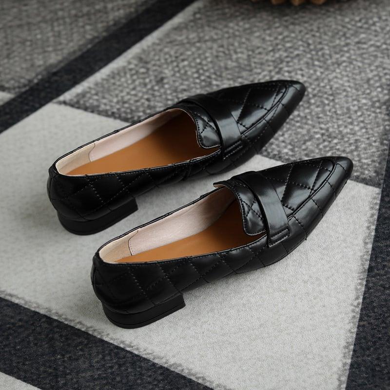 Chiko Sherron Pointed Toe Block Heels Loafer