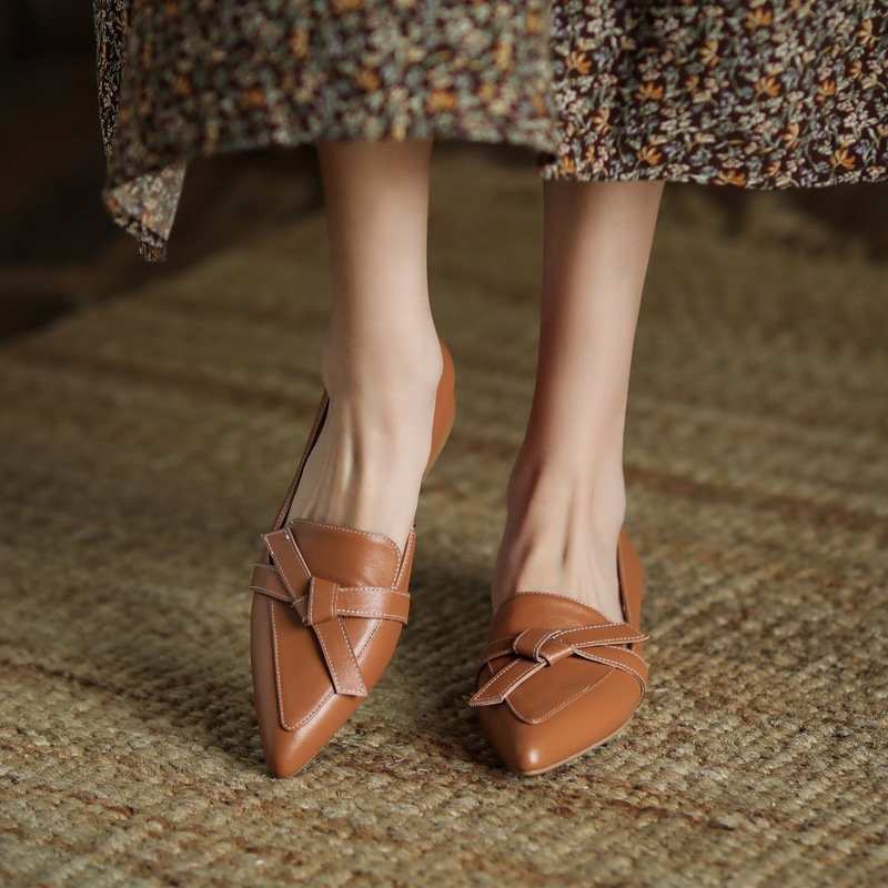 Chiko Shira Pointed Toe Block Heels Loafer