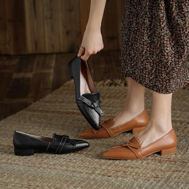 Chiko Shira Pointed Toe Block Heels Loafer