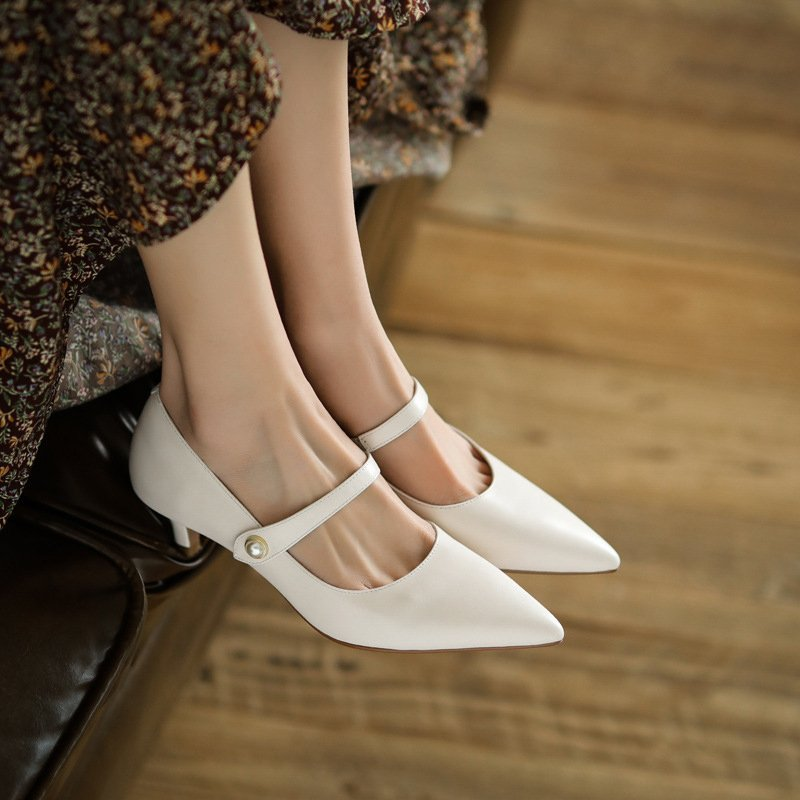 Chiko Sulamita Pointed Toe Kitten Heels Pumps