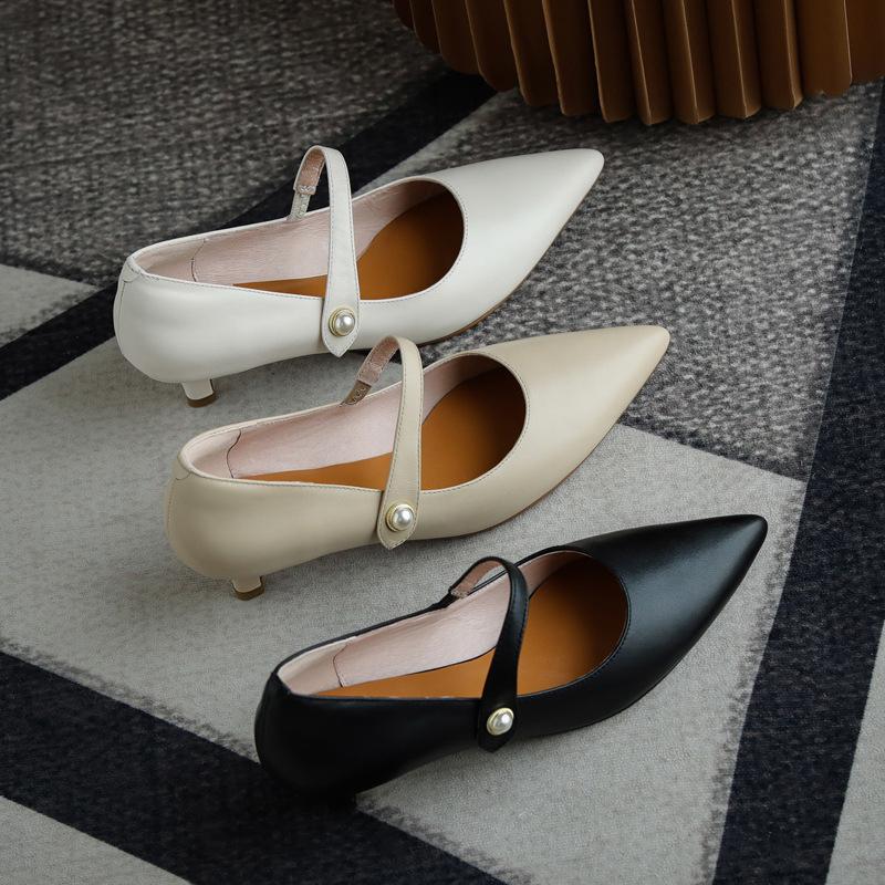 Chiko Sulamita Pointed Toe Kitten Heels Pumps