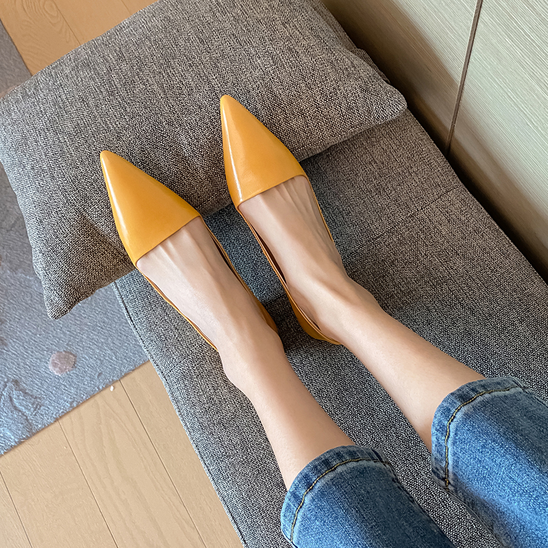 Chiko Susana Pointed Toe Kitten Heels Pumps