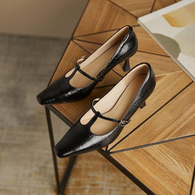 Chiko Anila Square Toe Stiletto Pumps