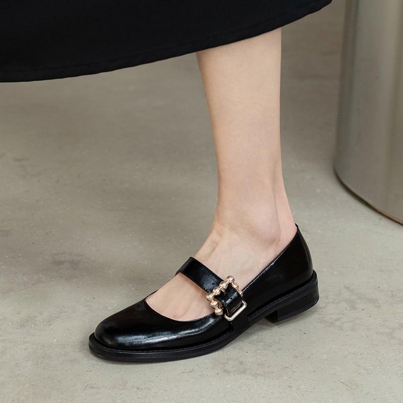 Chiko Tamira Square Toe Block Heels Pumps
