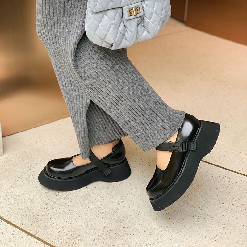 Chiko Opalina Round Toe Flatforms Pumps