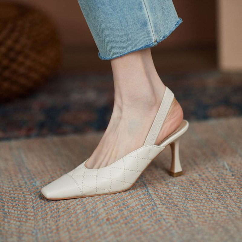 Chiko Rama Square Toe Stiletto Pumps