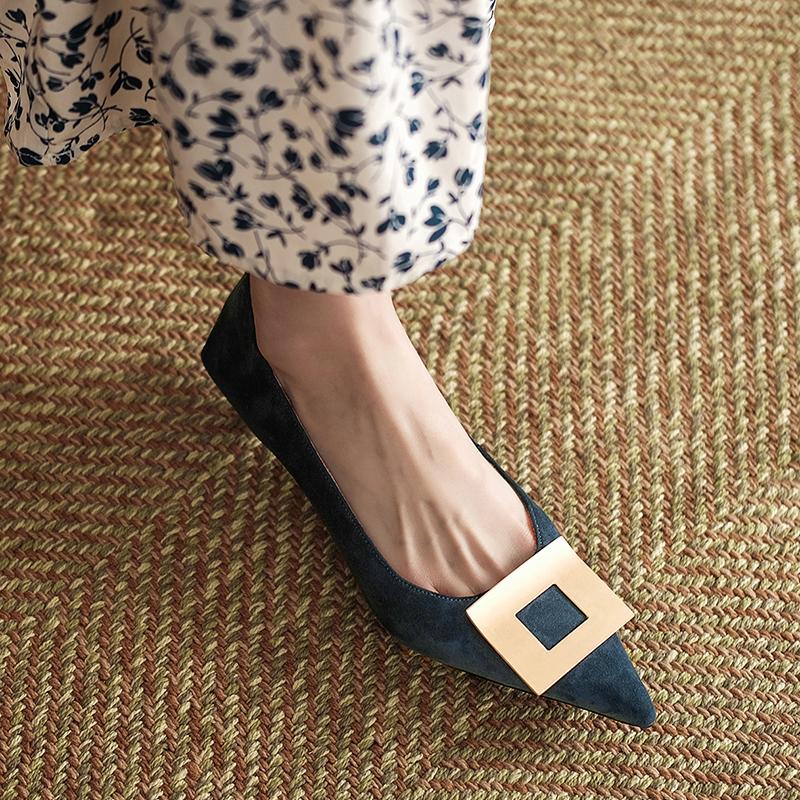 Chiko Karma Pointed Toe Kitten Heels Pumps