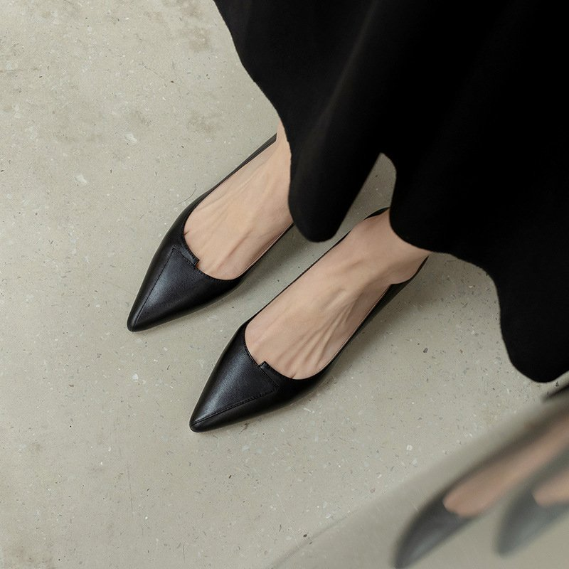 Chiko Tira Pointed Toe Block Heels Pumps