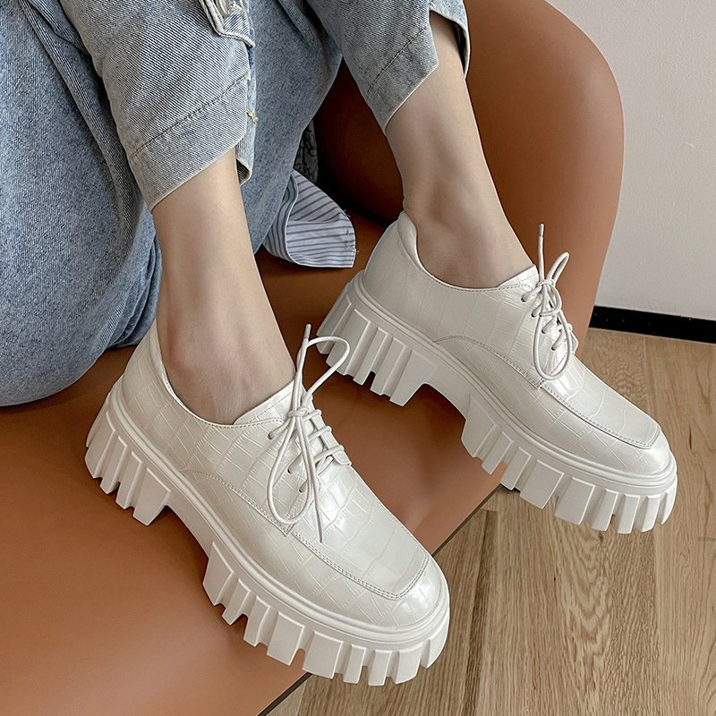 Chiko Taja Round Toe Flatforms Oxford