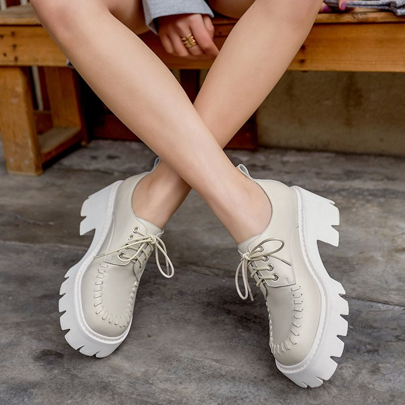 Chiko Tira Square Toe Flatforms Oxford