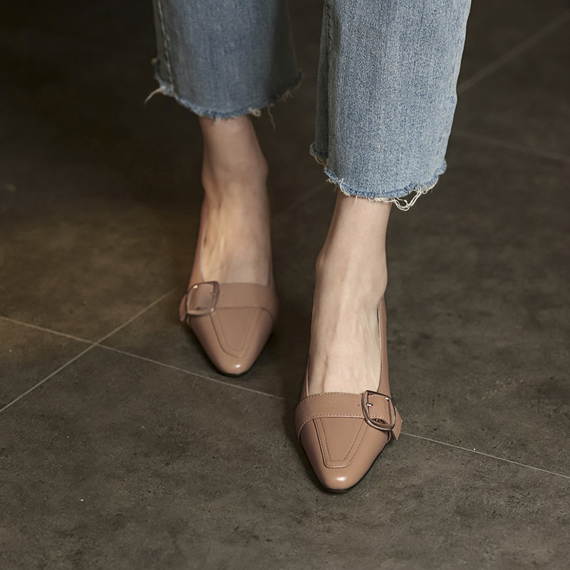 Chiko Varana Square Toe Chunky Heels Pumps