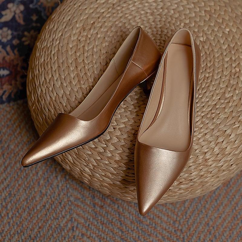 Chiko Vyona Pointed Toe Kitten Heels Pumps