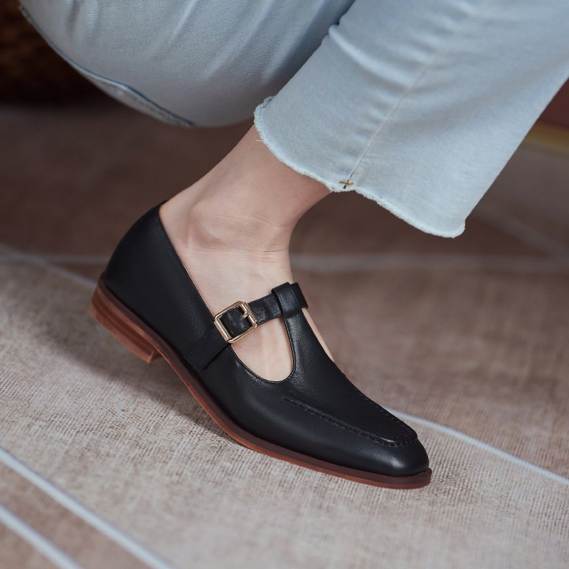 Chiko Franci Square Toe Block Heels Pumps