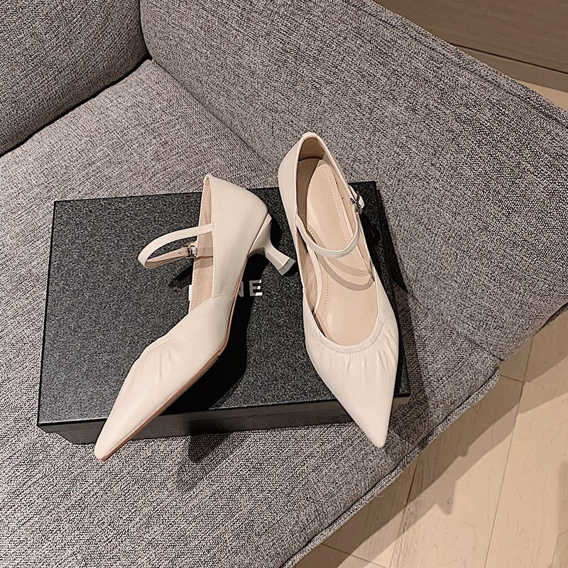 Chiko Aryana Pointed Toe Kitten Heels Pumps