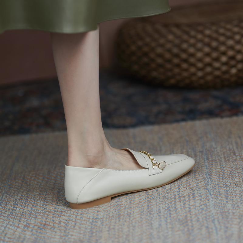 Chiko Cesaria Square Toe Block Heels Loafer