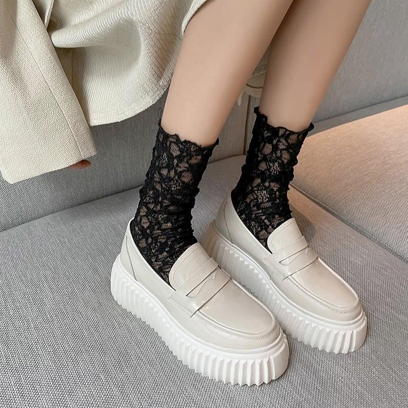 Chiko Claudel Round Toe Flatforms Loafer