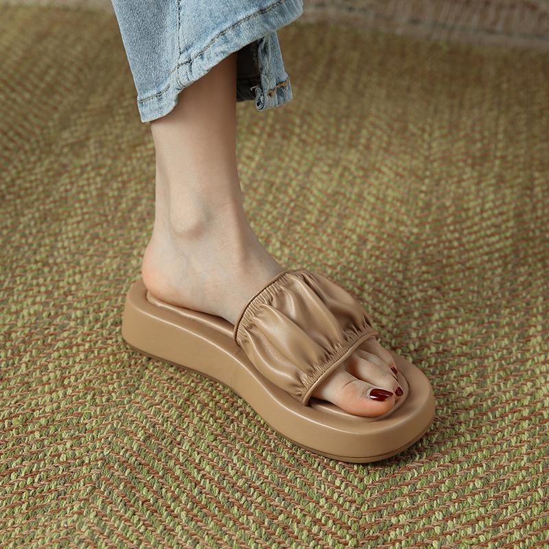 Chiko Annora Open Toe Flatforms Sandals