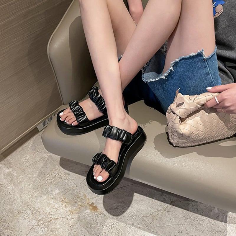 Chiko Antonice Open Toe Flatforms Sandals