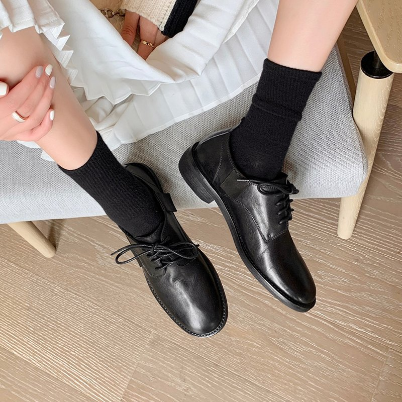 Chiko Donvina Round Toe Block Heels Oxford