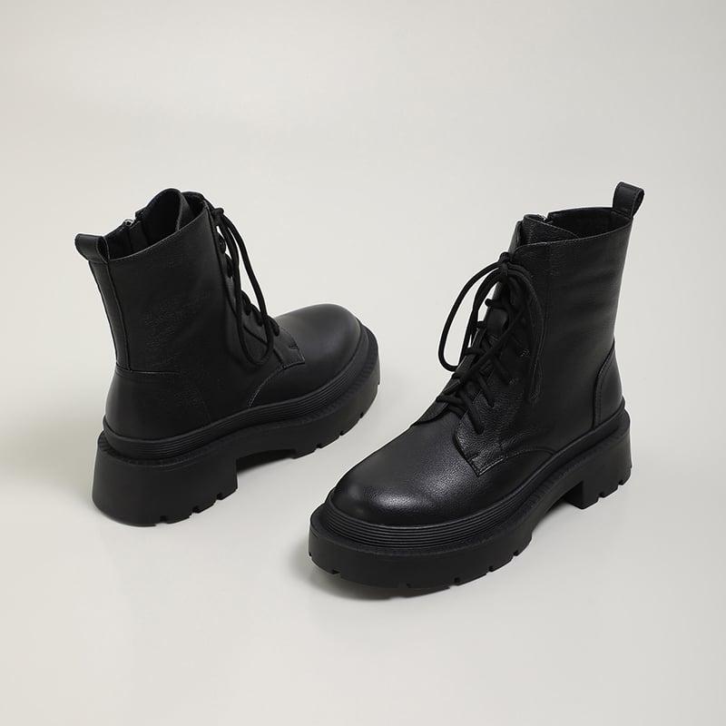 Chiko Iniga Round Toe Block Heels Boots