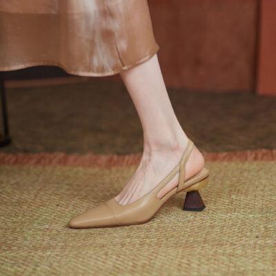 Chiko Laticia Square Toe Block Heels Pumps